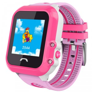 Smart Baby Watch DF27 G розовые